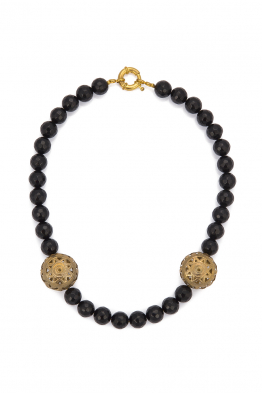 Glowing Diaries ONYX NECKLACE