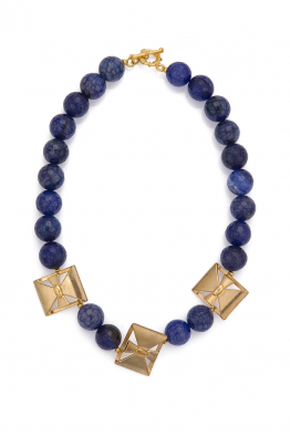 Glowing Diaries LAPIS NECKLACE