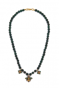 GREEN BEE NECKLACE