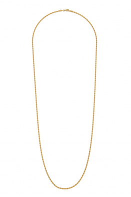 Glowing Diaries GOLD IVY NECKLACE