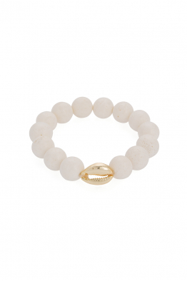 Glowing Diaries WHITE ONYX BRACELET