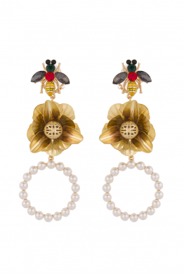 Glowing Diaries FLO BEE EARRING