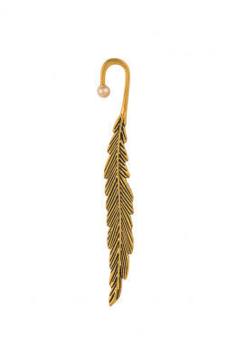 Glowing Diaries FEATHER EARRING