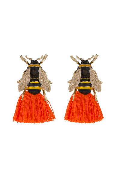 TASSEL BEE EARRING TASSEL BEE EARRING