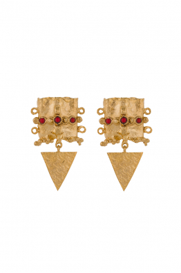 Glowing Diaries BAROQUE EARRING