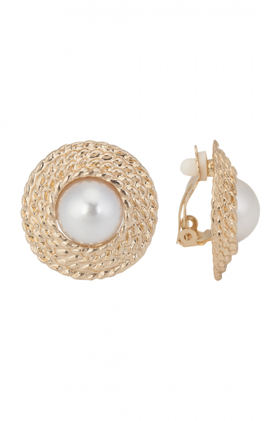 COCO ROUND EARRING COCO ROUND EARRING