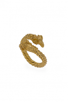 Glowing Diaries ARIES THICK RING