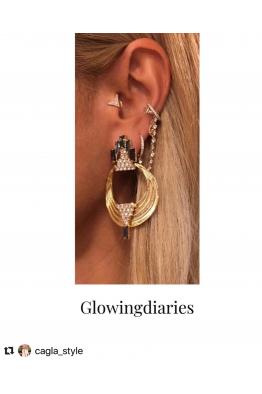 Glowing Diaries VENCY EARRING