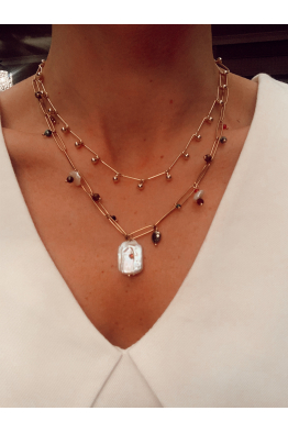 Glowing Diaries LISA NECKLACE