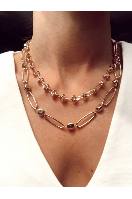 Glowing Diaries KNOT NECKLACE