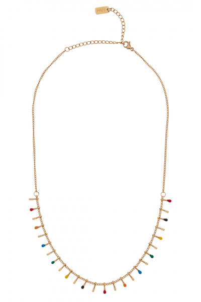 Glowing Diaries MOSAIC NECKLACE