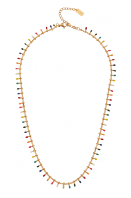 Glowing Diaries MOSAIC MULTI NECKLACE