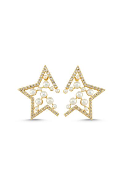 Yıldız Küpe Gold Yıldız Küpe Gold