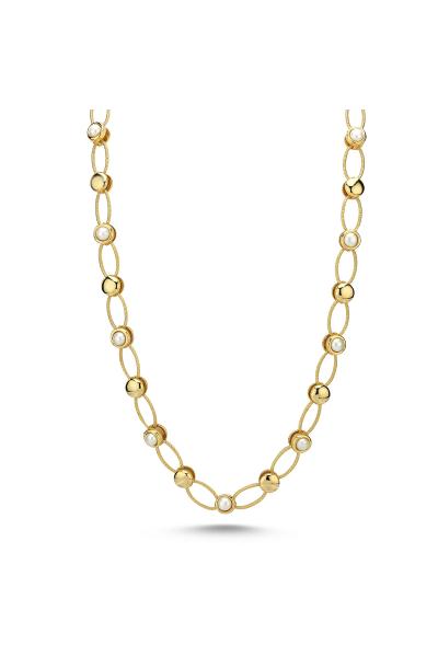 Pearlshine Zincir - Uzun Gold Pearlshine Zincir - Uzun Gold