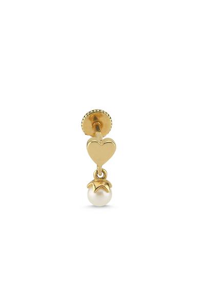 Gold Kalp Piercing Gold Kalp Piercing