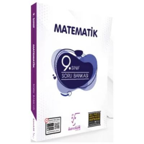 9. Sınıf Matematik Güncel Soru Bankası Karekök Yayınları 9. Sınıf Matematik Güncel Soru Bankası Karekök Yayınları