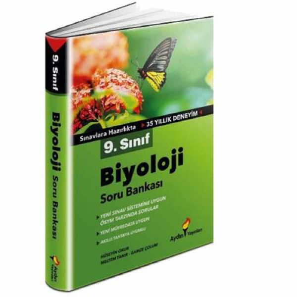 9. Sınıf Biyoloji Soru Bankası Aydın Yayınları 9. Sınıf Biyoloji Soru Bankası Aydın Yayınları