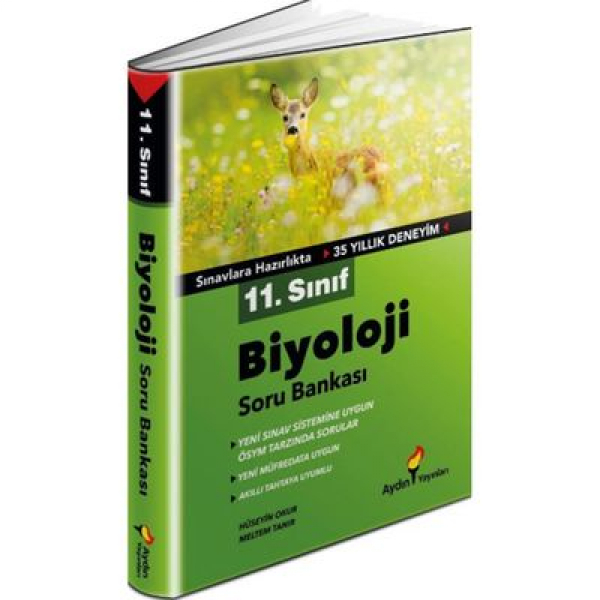 11. Sınıf Biyoloji Soru Bankası Aydın Yayınları 11. Sınıf Biyoloji Soru Bankası Aydın Yayınları