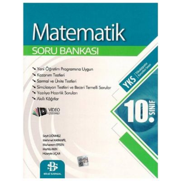 10. Sınıf Matematik Soru Bankası Bilgi Sarmal Yayınları 10. Sınıf Matematik Soru Bankası Bilgi Sarmal Yayınları