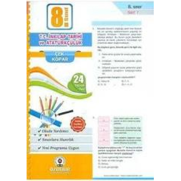 Spoiler Yayınları 8. Sınıf LGS İngilizce Soru Bankası Spoiler Yayınları 8. Sınıf LGS İngilizce Soru Bankası