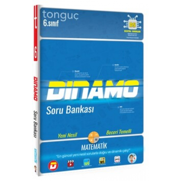 Tonguç Akademi 6. Sınıf Dinamo Matematik Soru Bankası Tonguç Akademi 6. Sınıf Dinamo Matematik Soru Bankası