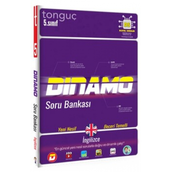 Tonguç Akademi 5. Sınıf İngilizce Dinamo Soru Bankası Tonguç Akademi 5. Sınıf İngilizce Dinamo Soru Bankası