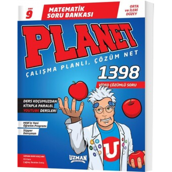 Uzman Yayınları 9. Sınıf Matematik Planet Soru Bankası Uzman Yayınları 9. Sınıf Matematik Planet Soru Bankası