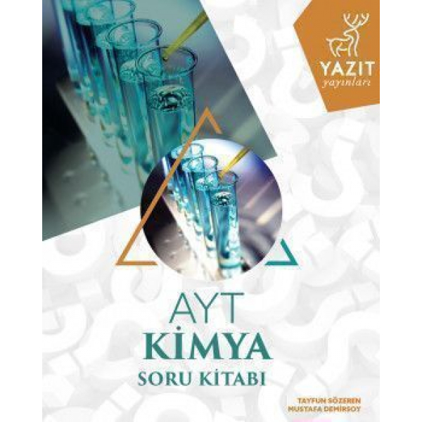 Yazıt Yayınları AYT Kimya Soru Kitabı Yazıt Yayınları AYT Kimya Soru Kitabı
