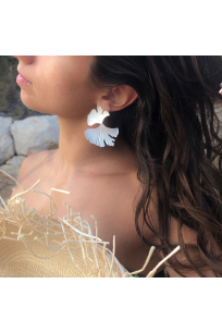 Reborn Earring | Brass Silver Plated