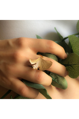 Stelart Jewelry Reborn Ring | Brass 18K Gold Plated