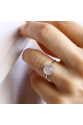 Bacchus Ring | Pink Quartz | 925 Silver