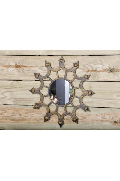 Dekoratif Bombeli Ayna Dekoratif Bombeli Ayna