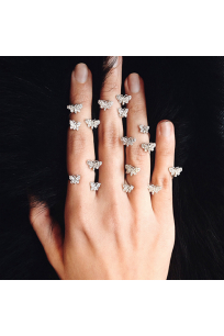 Butterflies Ring Set