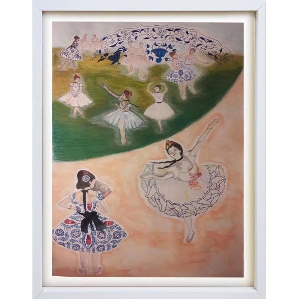 Degas'nın Çini ile Dansı Degas'nın Çini ile Dansı
