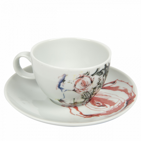 Bashaques x Cosalindo Teapot Desen Kahve Fincanı Bashaques x Cosalindo Teapot Desen Kahve Fincanı