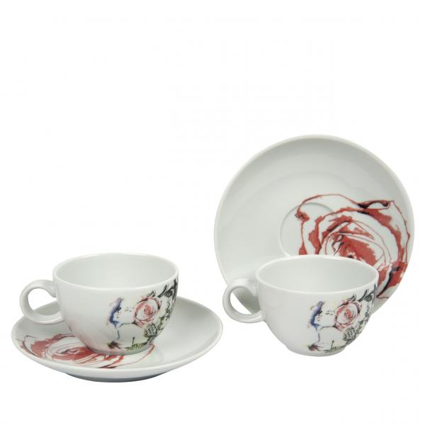 Bashaques x Cosalindo Teapot Desen 2'li Kahve Fincan Seti Bashaques x Cosalindo Teapot Desen 2'li Kahve Fincan Seti