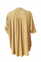 Khaki Shirt Dress - Haki Oversize Gömlek Elbise