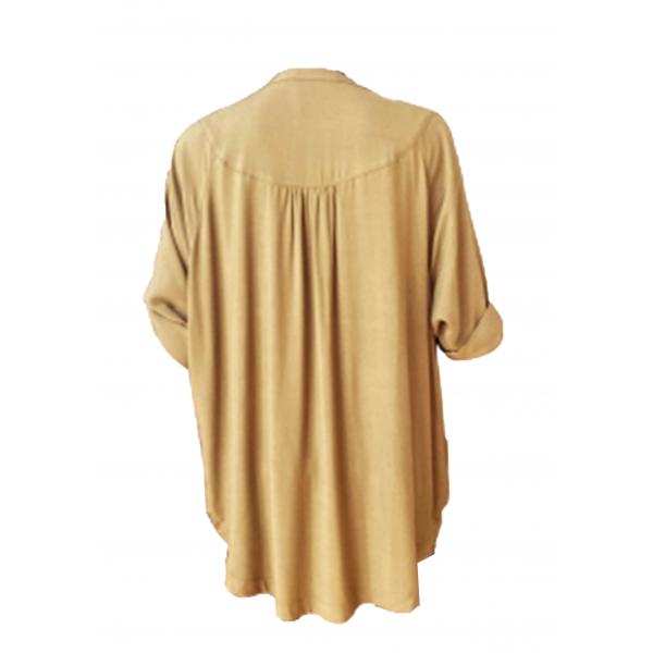 Khaki Shirt Dress - Haki Oversize Gömlek Elbise Khaki Shirt Dress - Haki Oversize Gömlek Elbise