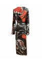 Linear Patterned Kimono / Çizgisel Desenli Kimono