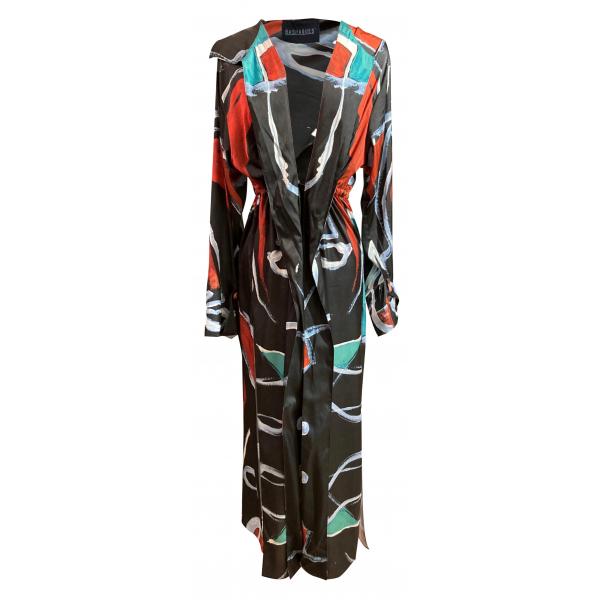 Linear Patterned Kimono / Çizgisel Desenli Kimono Linear Patterned Kimono / Çizgisel Desenli Kimono