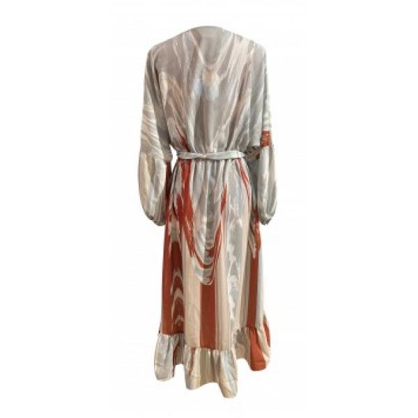Fluid Marble Dress - Mermer Desenli Elbise Fluid Marble Dress - Mermer Desenli Elbise