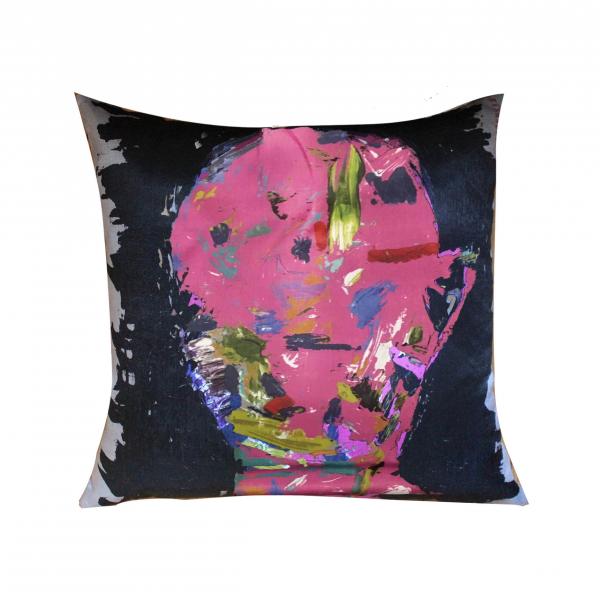 Sugar Candy Series Pink Saten Yastık 45x45