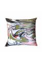 Khaki Dreamy Marble Series 45x45 Saten Yastık