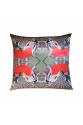 Khaki Dreamy Tile Series 50x50 Saten Yastık