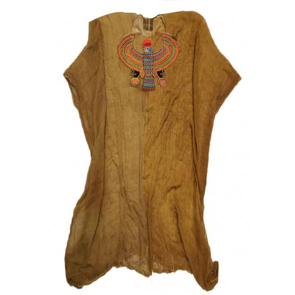 God of Falcon Tunik -  Sırtı Mısır Kuşu Sembollü Nakışlı Tunik God of Falcon Tunik -  Sırtı Mısır Kuşu Sembollü Nakışlı Tunik