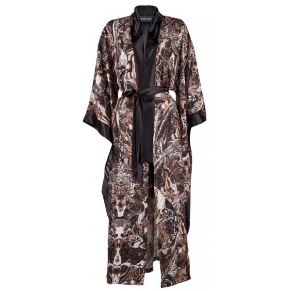 Sepia Dreams Linen Kaftan & Kimono Sepia Dreams Linen Kaftan & Kimono
