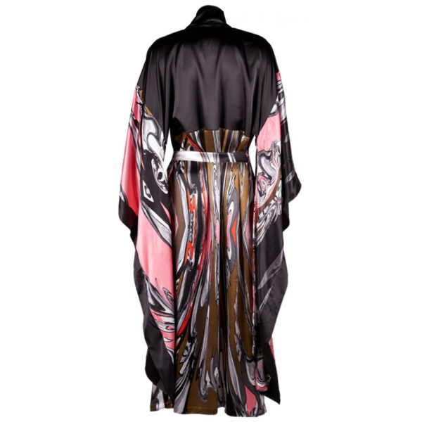 Khaki Pinky Dreamy Kimono & Kaftan Khaki Pinky Dreamy Kimono & Kaftan