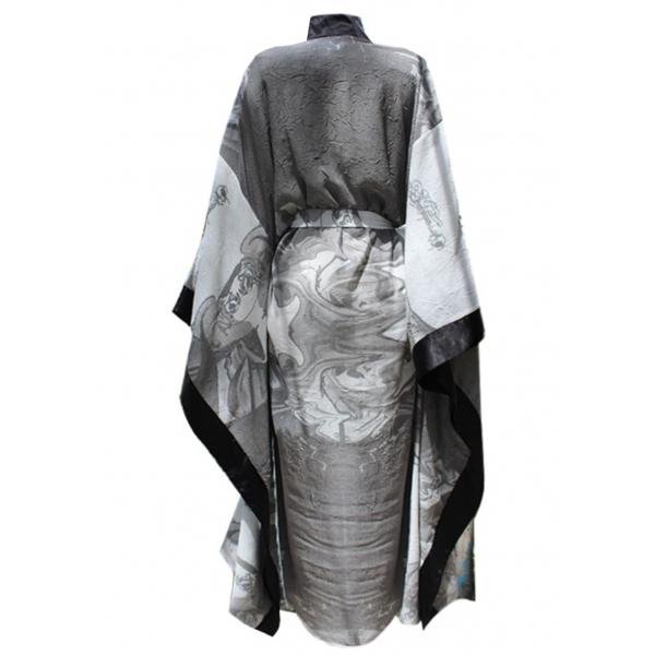 Smoky Linen Kimono & Kaftan