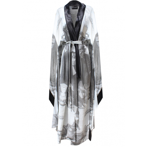 Smoky Linen Kimono & Kaftan Smoky Linen Kimono & Kaftan