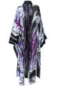 Purple Dreamy Kimono Kaftan